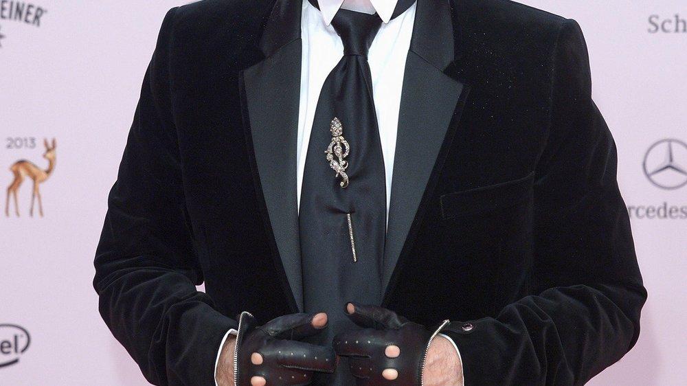 Karl Lagerfeld: Er lüftet das Geheimnis seiner Sonnenbrille