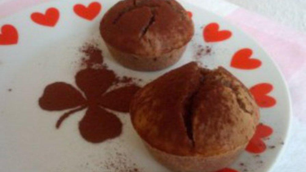 Schoko-Chai-Bananen-Muffins