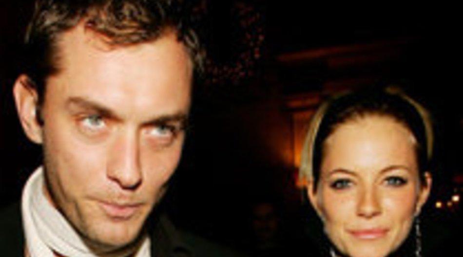 Jude Law und Sienna Miller: Nur gute Freunde?