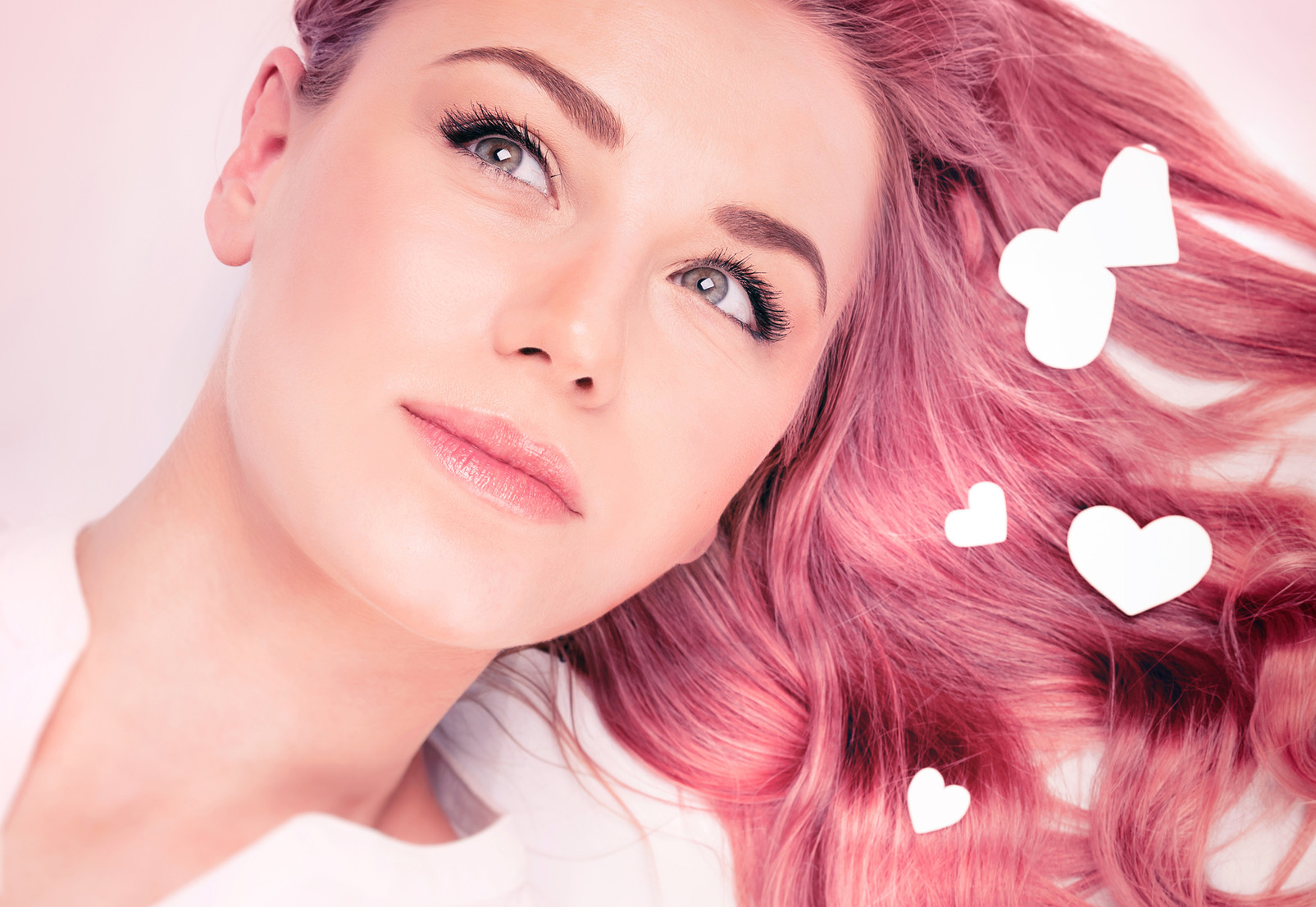 Haare Rosa Färben So Gehts Desiredde