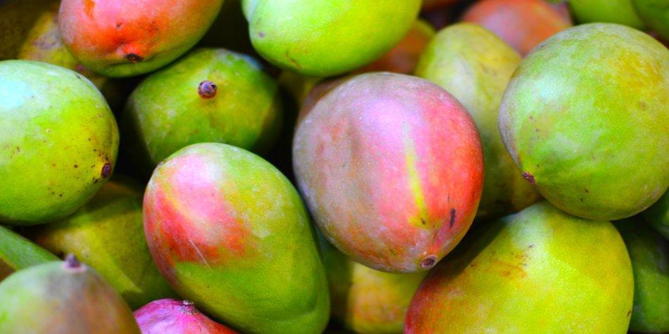 Wie schneidet man eine Mango