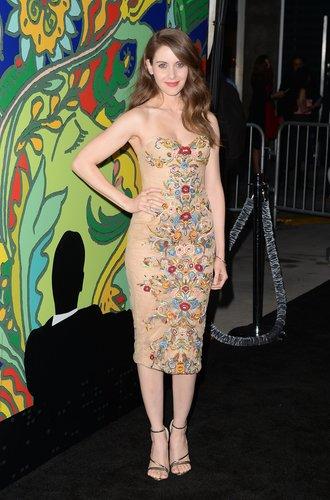 Alison Brie bei einer Filmpremiere