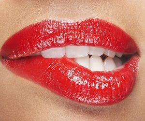Rote Lippen