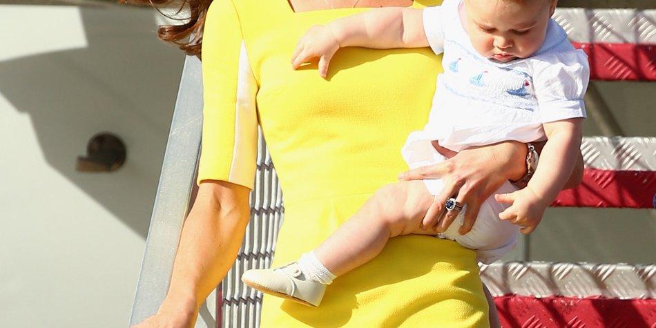 Kate Middleton: George spielt im Schloss von Windsor