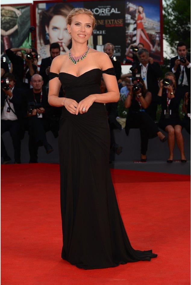 Scarlett Johansson auf dem roten Teppich