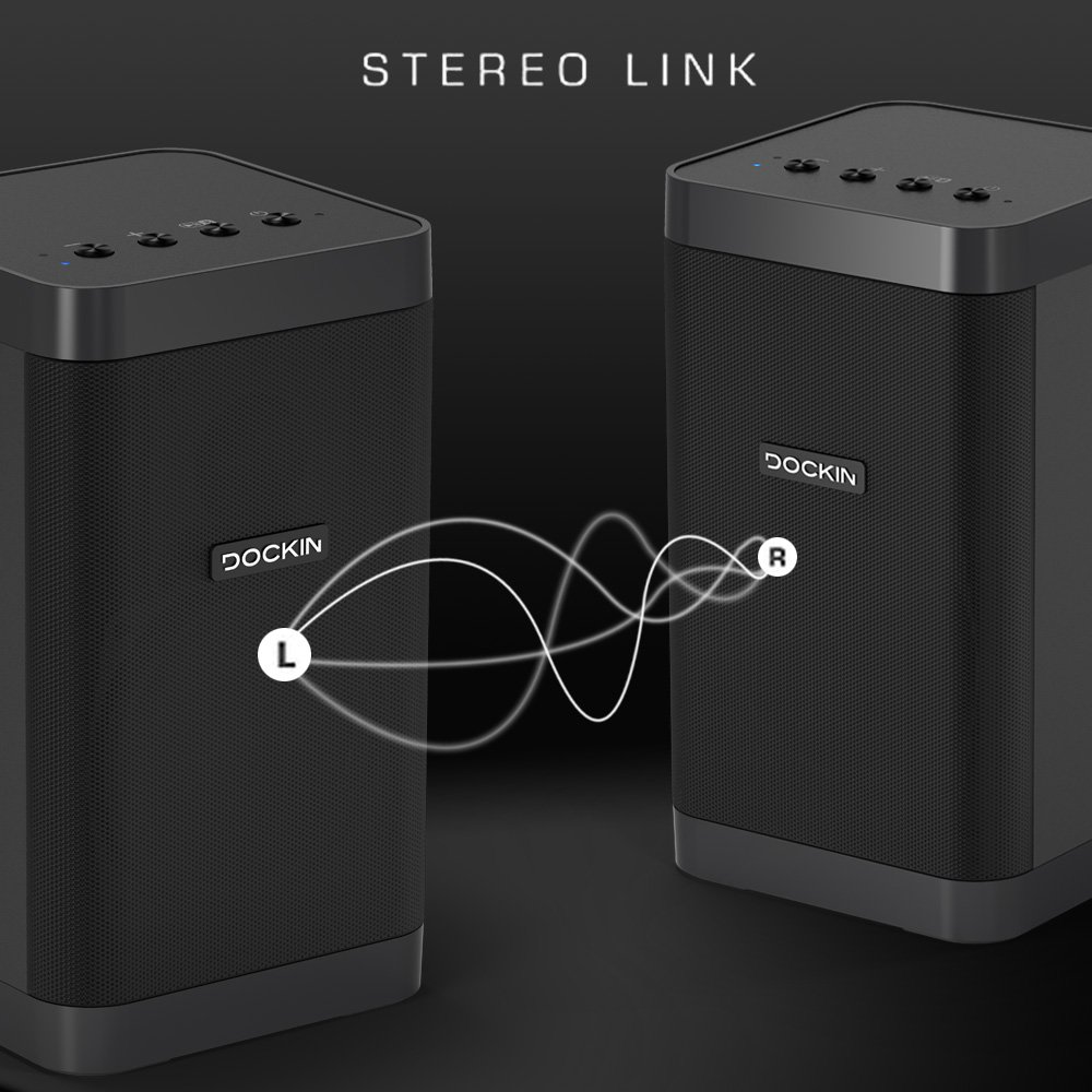 Dockin Bluetooth Lautsprecher