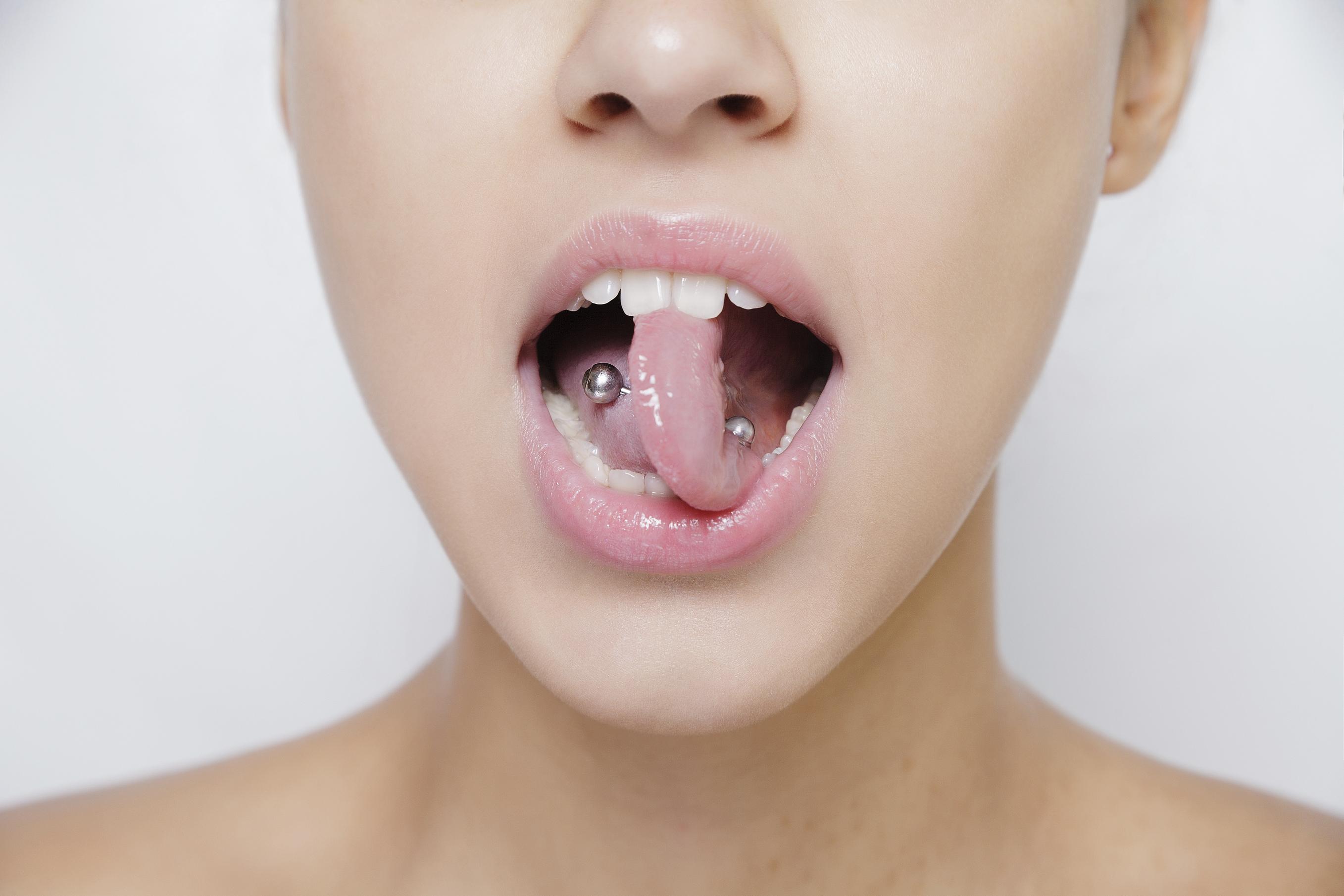 Tolle Anatomie Des Mundes Unter Der Zunge Zeitgenössisch ...