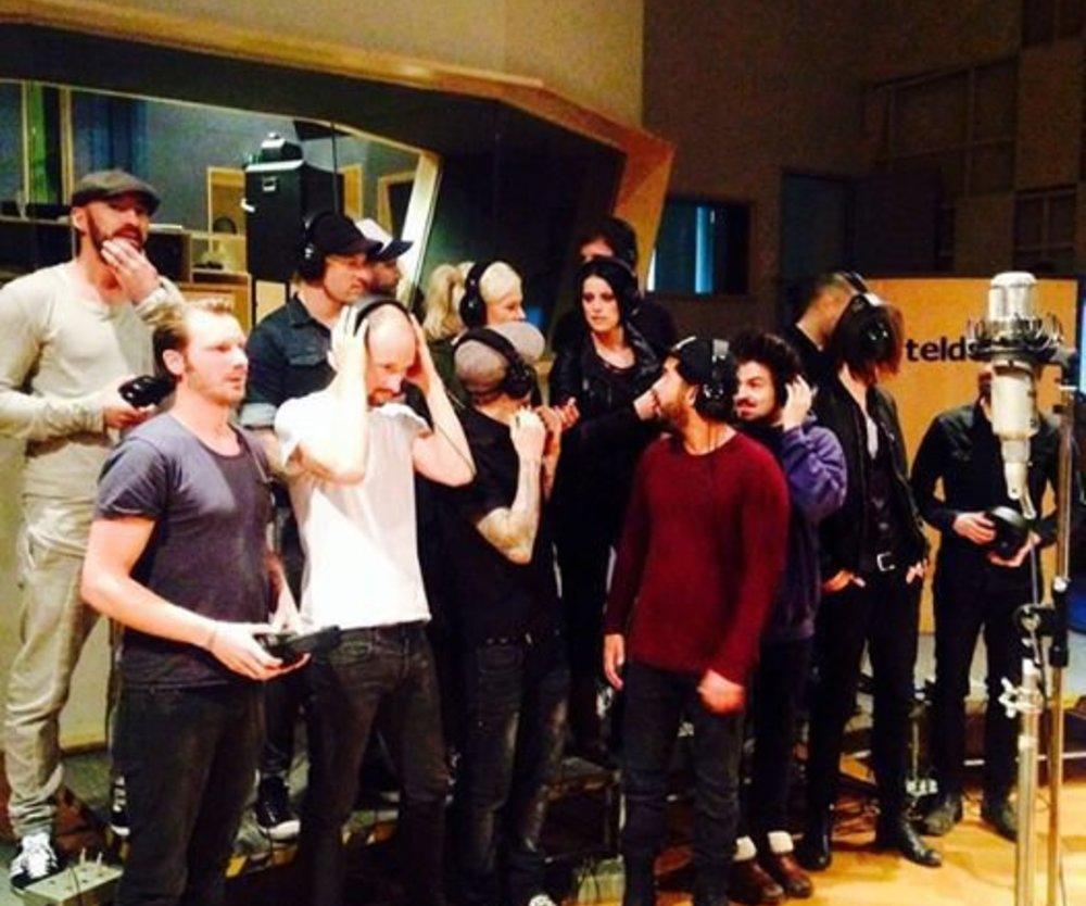 Band Aid 30: Der deutsche Song ist im Kasten