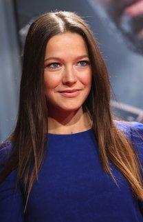 Hannah Herzsprung: Glatte Haare mit Mittelscheitel