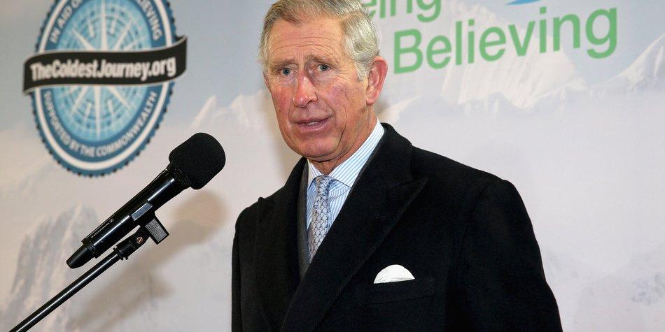 Prinz Charles sorgt sich um Prinz Harry