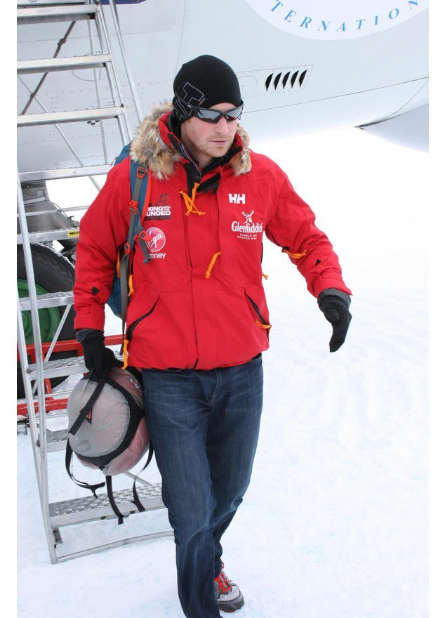 Prinz Harry in der Antarktis