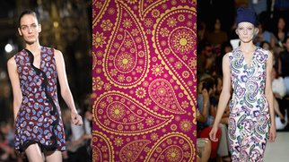 Paisley: Das Hippie-Muster feiert sein Comeback