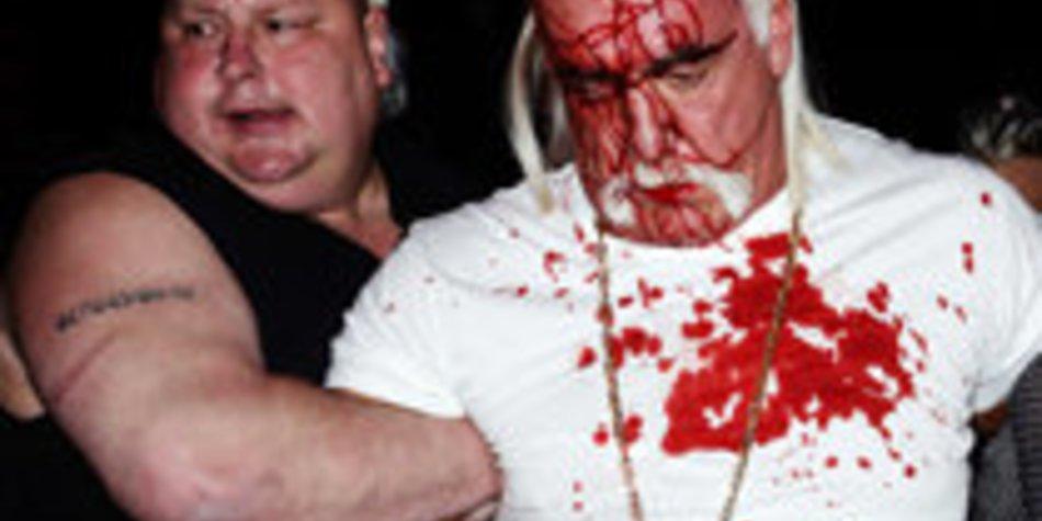 Hulk Hogan wurde blutig geschlagen
