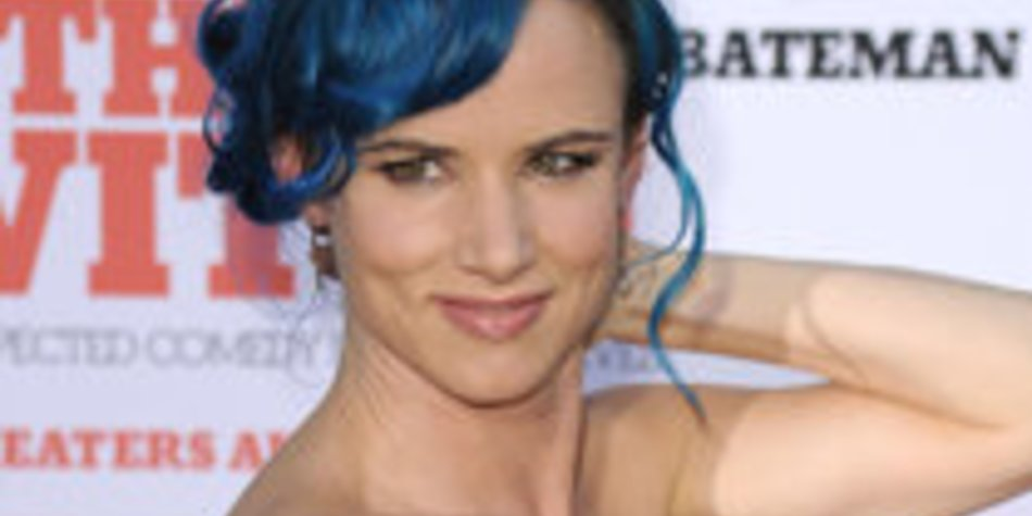 Juliette Lewis:Total blau!
