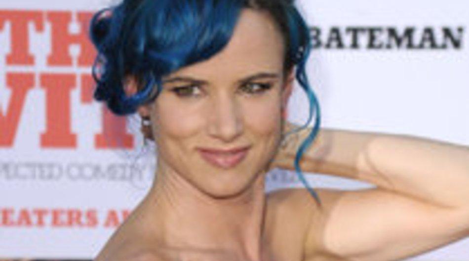 Juliette Lewis:Total blau!