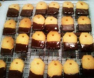 Peanut Butter Shortbread Teebag Cookies