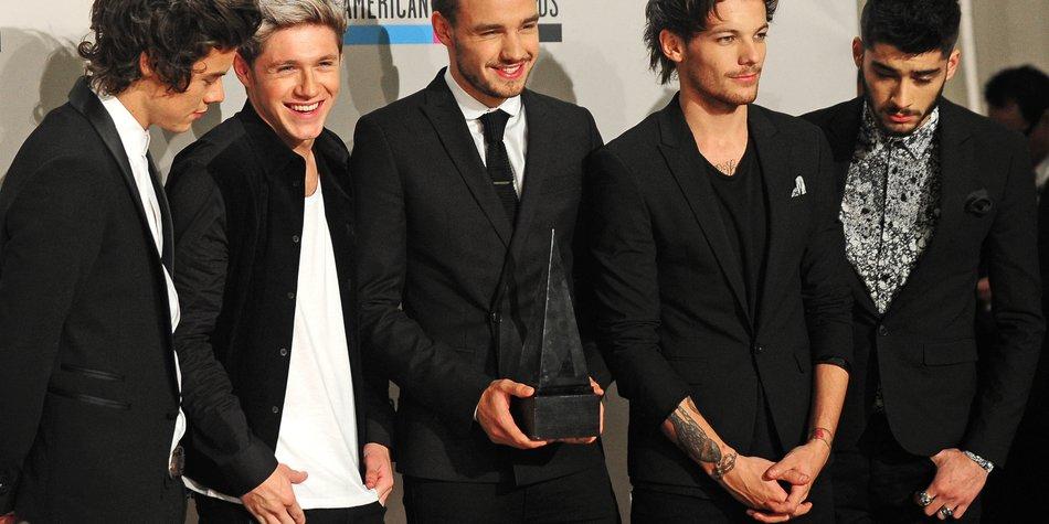 One Direction: Die Jungs konnten sich nicht leiden