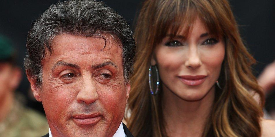 Sylvester Stallone arbeitet gegen die Trauer