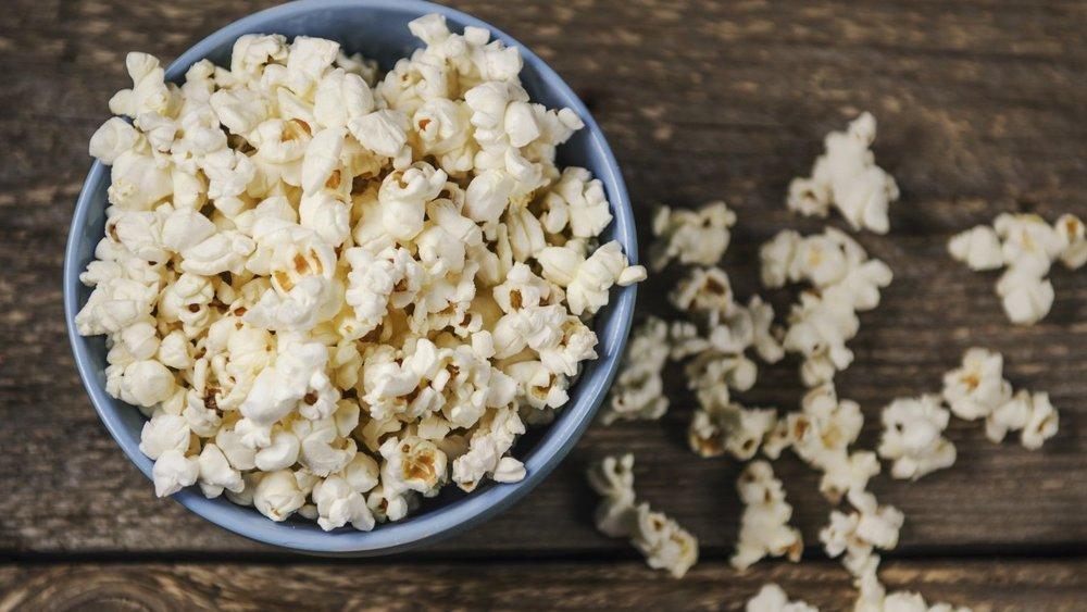 Gesundes Popcorn