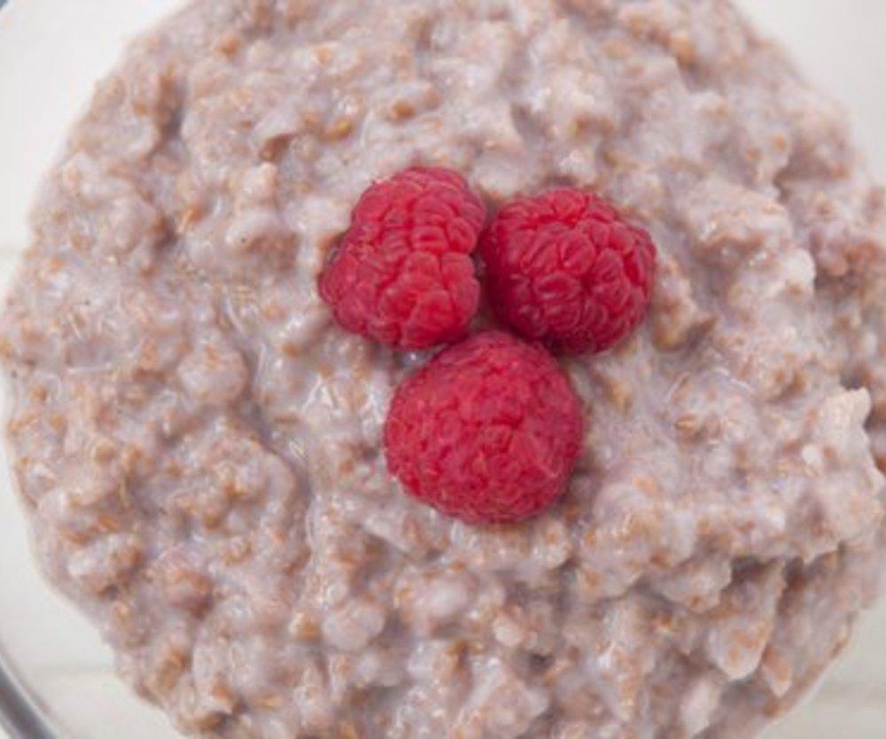 Porridge Frühstück