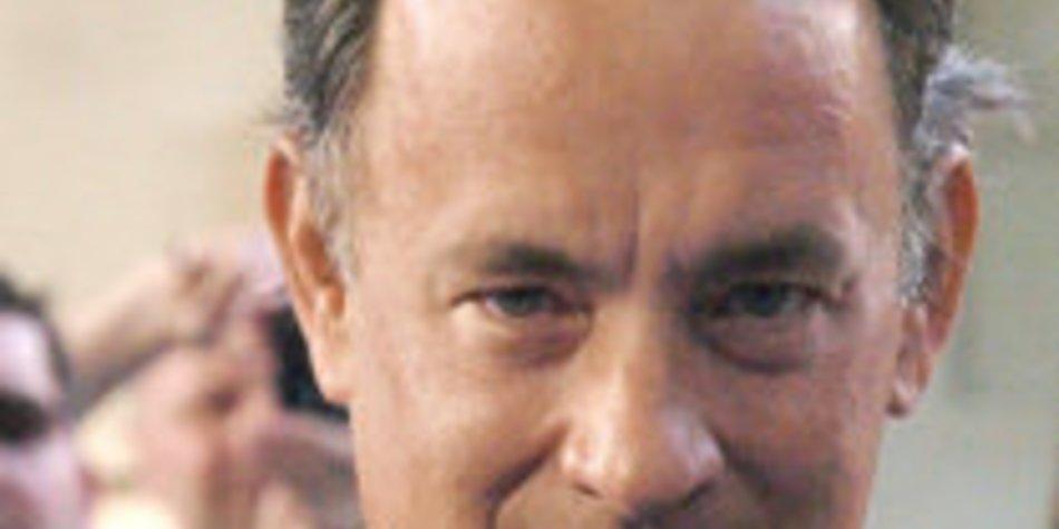 Hanks begleitet Braut