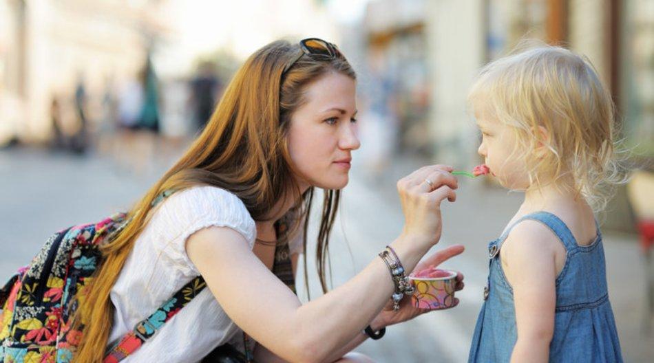 Betreuung durch den Babysitter