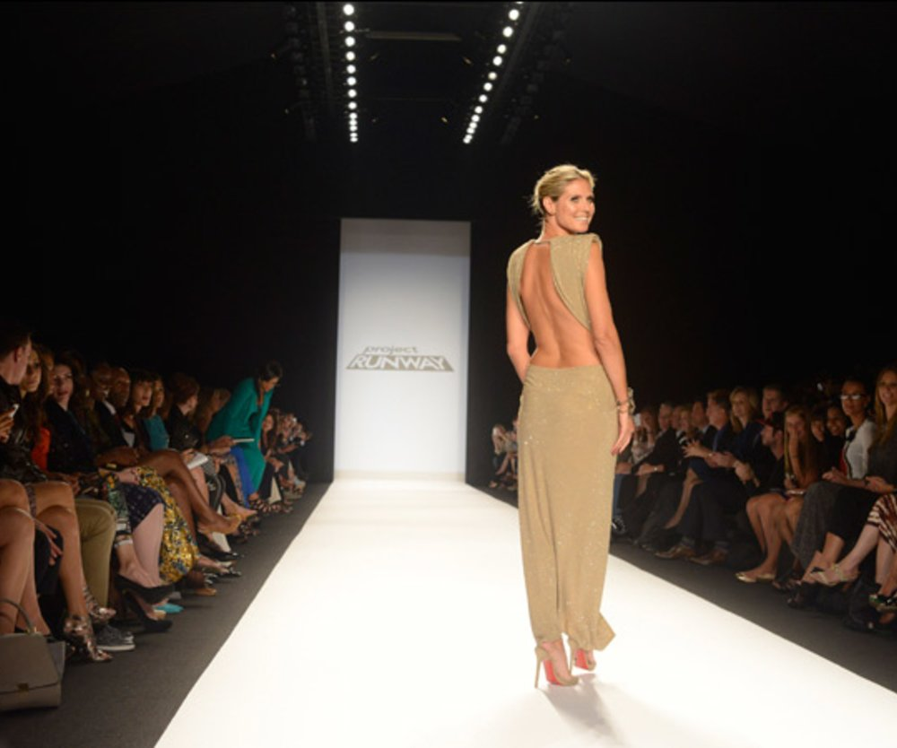 Project Runway: Heidi Klum auf der New York Fashion Week