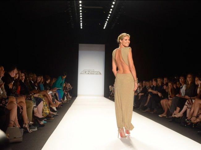 Project Runway: Heidi Klum auf der New York Fashion Week