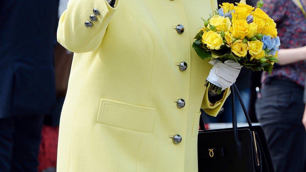 Queen Elizabeth verabschiedet sich von Deutschland