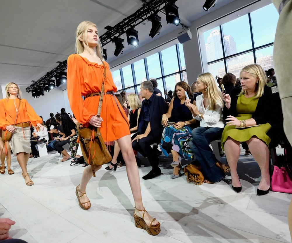 attends the Michael Kors Spring 2016 Runway Show during New York Fashion Week: The Shows at Spring Studios on September 16, 2015 in New York City.