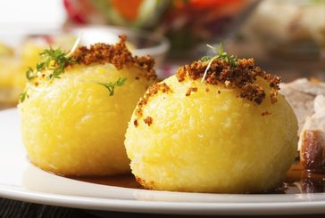Kartoffelklöße aus gekochten Kartoffeln
