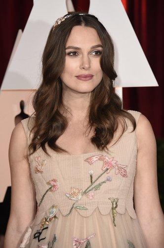 Keira Knightley auf dem Red Carpet der Oscars