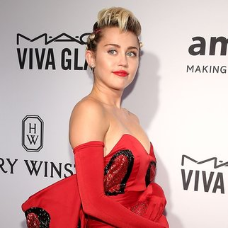 NEW YORK, NY - JUNE 16:  Miley Cyrus attends the 2015 amfAR Inspiration Gala New York at Spring Studios on June 16, 2015 in New York City.  (Photo by Neilson Barnard/Getty Images)