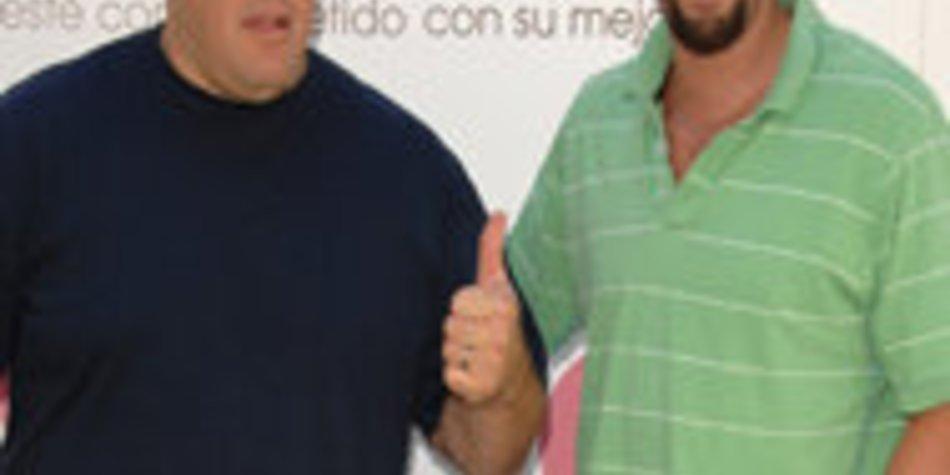 """Adam Sandler und Kevin James als """"Chuck und Larry"""""""