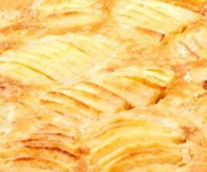 Einfacher Apfel-Eierlikörkuchen