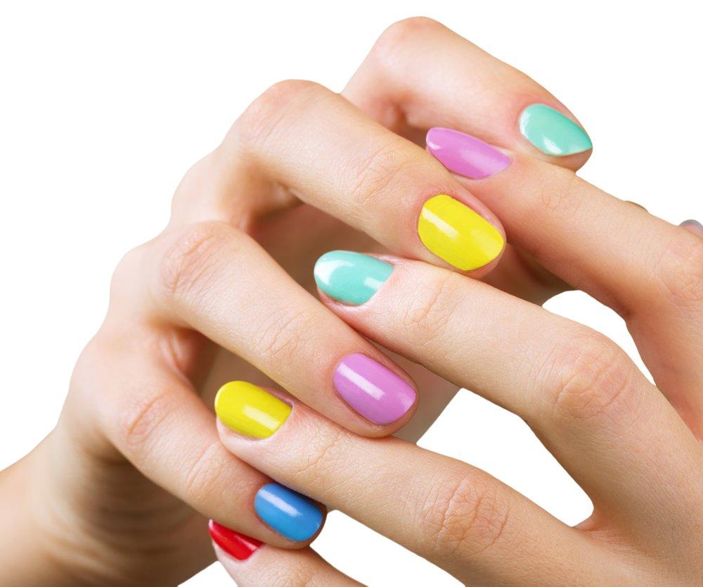Mismatched Nails