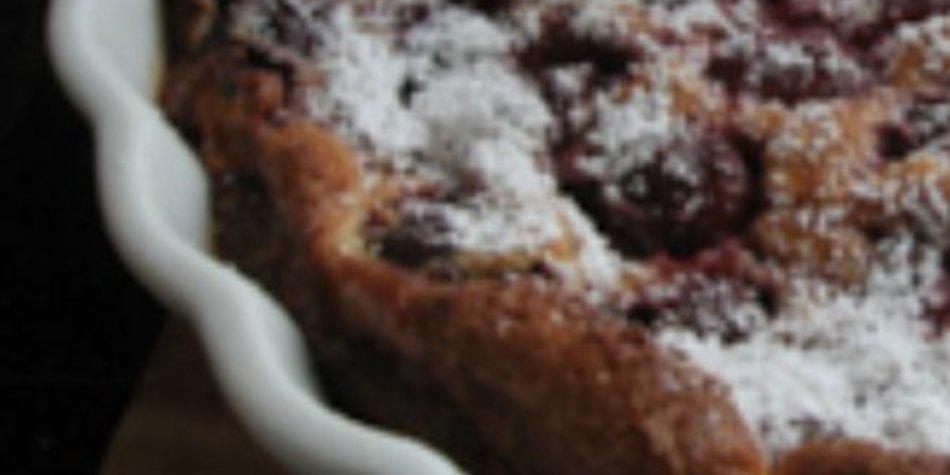 Clafoutis / Französischer Kirschkuchen