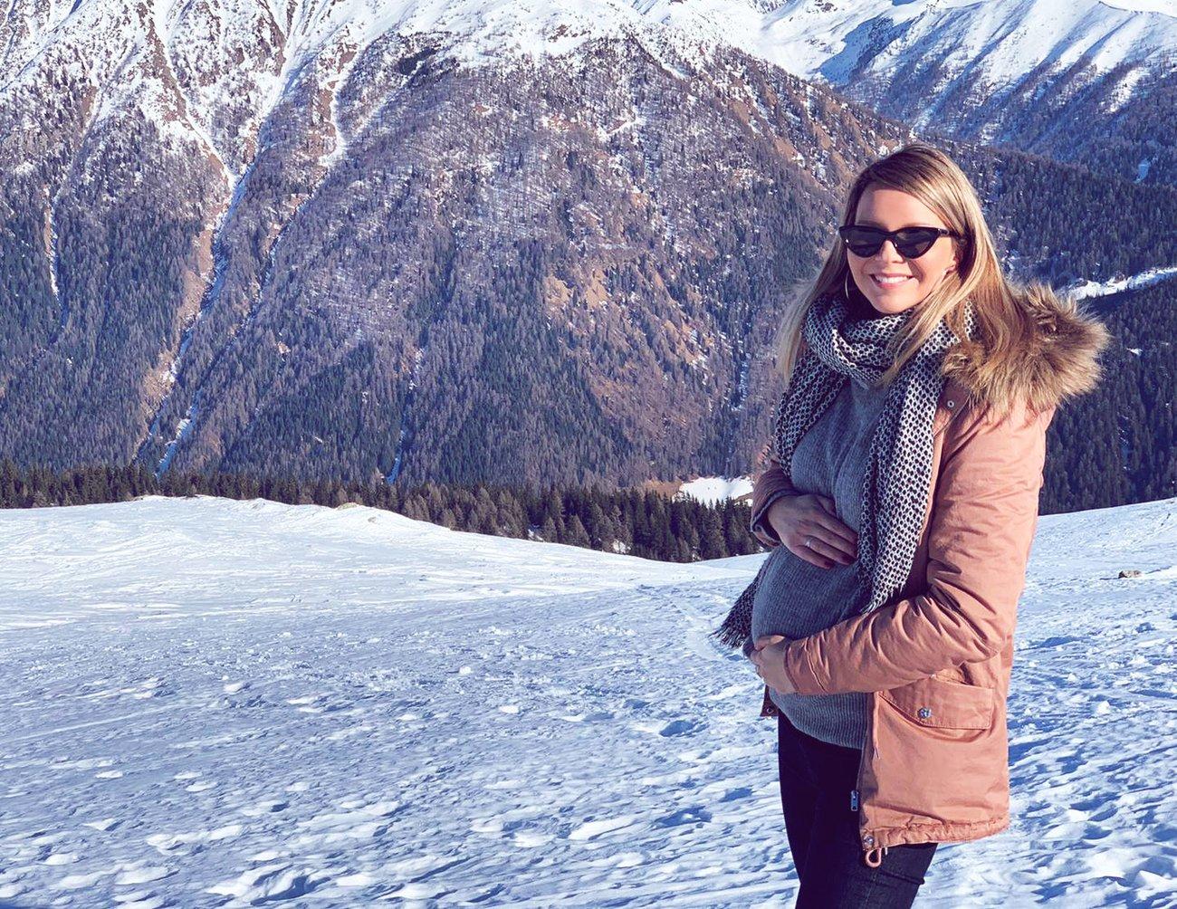 Babymoon Schneeschuhwanderung