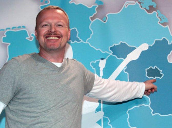Moderator Stefan Raab