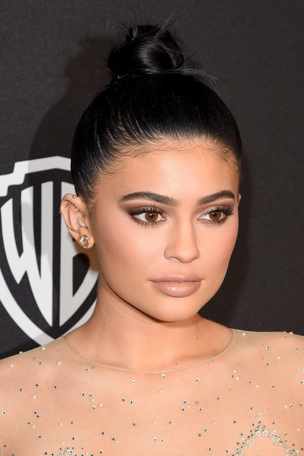 Kylie Jenner Baby Hair