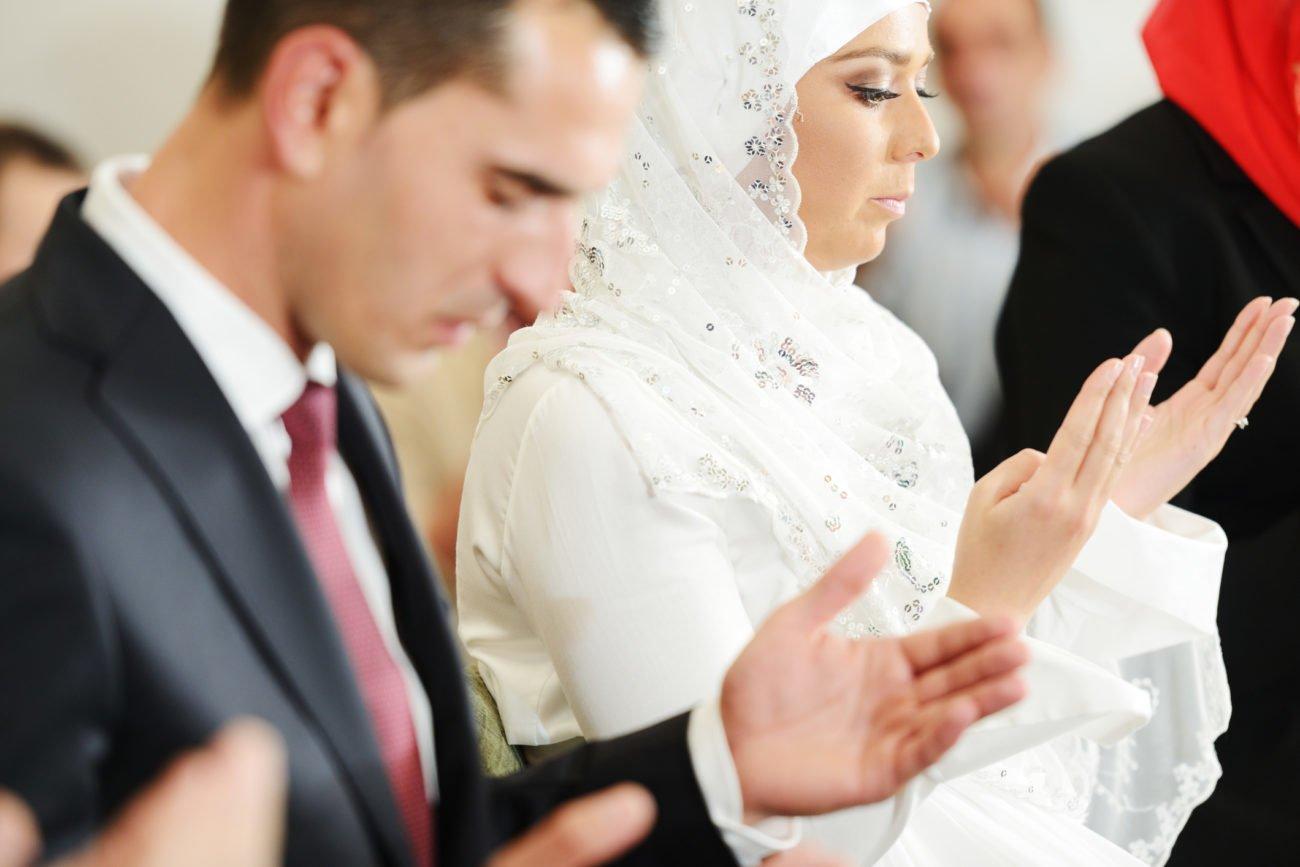 Muslimische Trauung