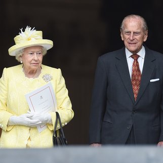 LONDON, ENGLAND - JUNE 10: Queen Elizabeth II and Prince Phillip, Duke of Edinburgh attend a National Service of Thanksgiving as part of the 90th birthday celebrations for The Queen at St Paul's Cathedral on June 10, 2016 in London, England. (Photo by Stuart C. Wilson/Getty Images)