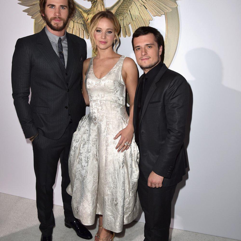 """Jennifer Lawrence: Reunion mit den """"Hunger Games""""-Stars"""