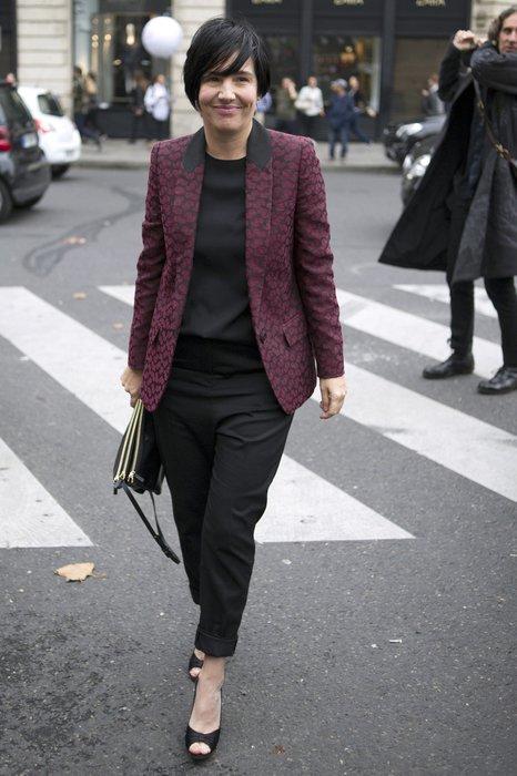 Sharleen Spiteri bei der Paris Fashion Week