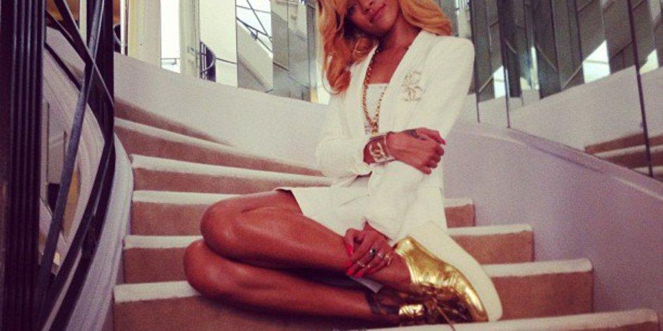 Rihanna zu Gast bei Coco Chanel