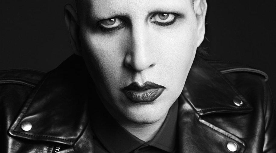 Marilyn Manson für Saint Laurent