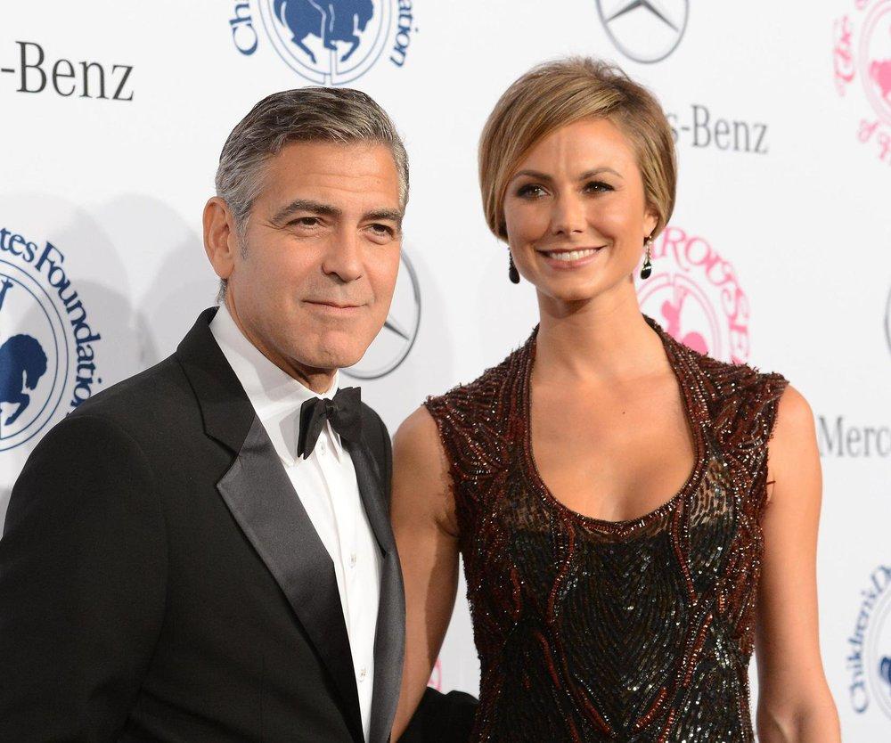 George Clooney: Wird er von Stacy Keibler betrogen?
