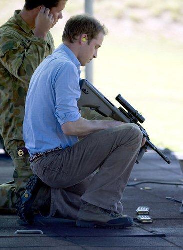 Prinz William stellt sich den Herausforderungen