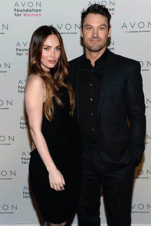 Megan Fox und Brian Austin Green bei einem Event