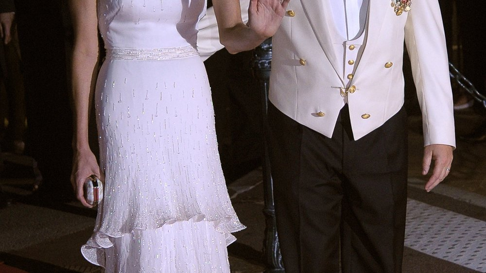 Fürst Albert und Charlène flittern